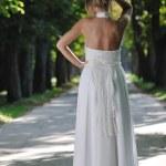 Beautiful bride outdoor — Stock Photo #6849314