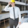 Architect on construction site — Stock Photo #7268920