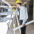 Architect on construction site — Stock Photo #7269367