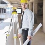 Architect on construction site — Stock Photo #7269487