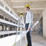 Architect on construction site — Stock Photo #7269578