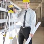Architect on construction site — Stock Photo #7269686