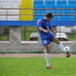 Football player in action — Stok fotoğraf
