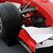 Red formel 1 model - Stock Photo