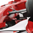 Red formel 1 model — Stock Photo
