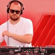 Music dj - Stock Photo