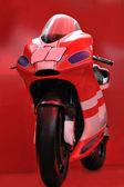 červená motorku — Stock fotografie