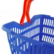 Blue shopping basket — Foto de stock #7943630