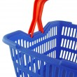 Foto de Stock  : Blue shopping basket