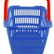 Blue shopping basket — Stock Photo #7943639