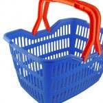 niebieski koszyk — Zdjęcie stockowe