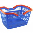 Blue shopping basket — Stock Photo #7943652