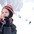 Snow-girl — Stock Photo #7944991