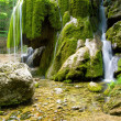 Beautiful waterfall in forest — Stock Photo