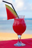 Water melone cocktail — Stock Photo