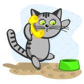 Cat calls — Stock Vector