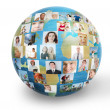 Social network — Stock Photo #7257775