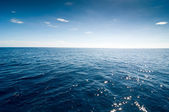 Sea with blue waves — Stock Photo