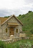 Dům z přírodního kamene. — Stock fotografie