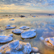 Hdri landscape with winter sea — Stock Photo