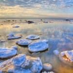 Hdri landscape with winter sea — Stock Photo
