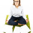 Woman in yoga — Stock Photo #6822164