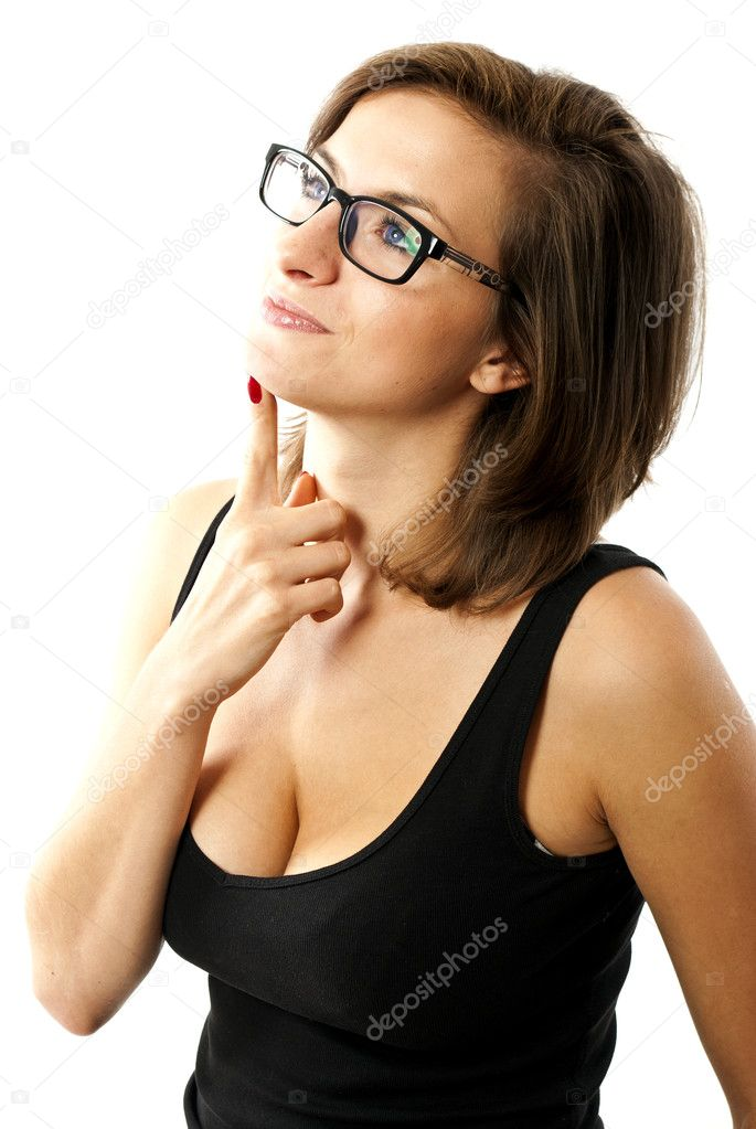 Woman thinking — Stock Photo #7154964