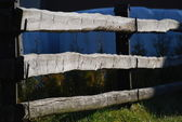Fence boards — Stock Photo