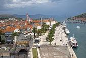 Promenade in Togir Croatia — 图库照片