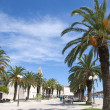 Stock Photo: promenade in togir croatia