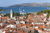 Aerial view of Trogir — Stock Photo