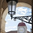 Lantern and clock tower — Stock Photo
