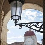 Lantern and clock tower — Stock Photo