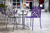 Cadde kafe — Stok fotoğraf