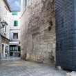 Old street in Split - 图库照片