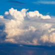 Big clouds — Stock Photo