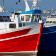 Fisher boats — Stock Photo