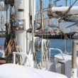 Yacht mast — Stock Photo #7274105