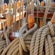 Ship rigging — Stock Photo #7274107