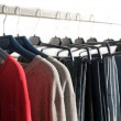 Clothes rack — Stock Photo #7605175