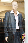 Mannequin in clothes shop — Foto Stock