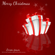 Abstract Christmas Background Vector Illustration - Imagen vectorial