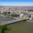 Elizabeth bridge, Budapest, Hungary — Stock Photo