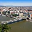 Elizabeth bridge, Budapest, Hungary — Stock Photo