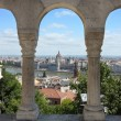 Budapest, Hungary from Fishermen's Bastion — Stock Photo