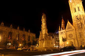 Holy trinity column in Budapest, Hungary — Stock Photo