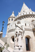 Fisherman Bastion in Budapest, Hungary — Stock Photo