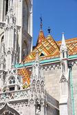 Matthias church in Budapest, Hungary — Stock Photo