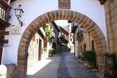 Poble Espanyol, Spanish village in Barcelona, Spain — Stock Photo