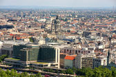 Budapest, Hungary, from fortress Citadel — Stock Photo